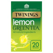 Twinings Green Tea Lemon 20 Tea Bags 40G
