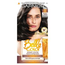 Garn/Bel/Clr 1 Black Permanent Hair Dye