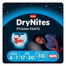 Drynites Boy Pyjama Pant Age 4-7 Years 10 Pants