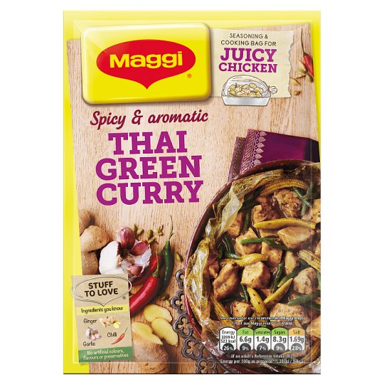 Maggi Juicy Thai Green Curry 43G