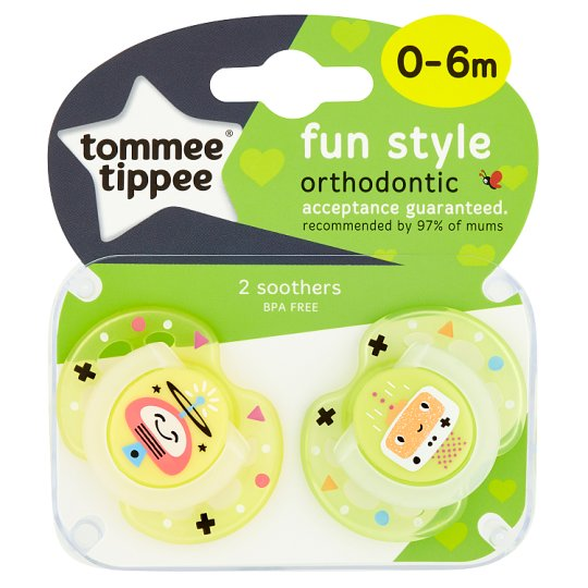 Tommee Tippee Closer To Nature 0-6M Fun Soother