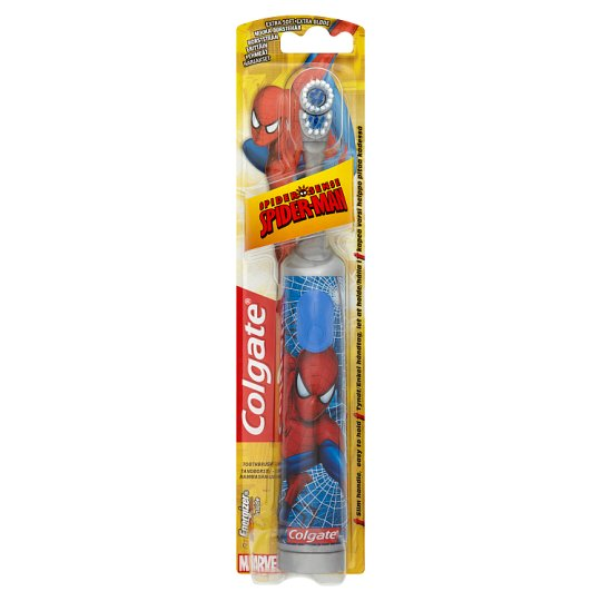 image 1 of Colgate Spiderman Kids Battery Toothbrush