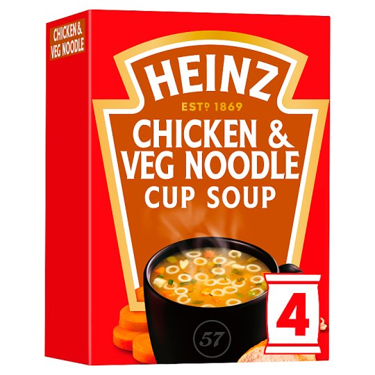 Heinz Chicken And Vegetable Noodle Cup Soup 72G