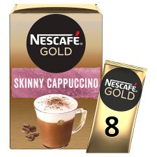 Nescafe Gold Skinny Cappuccino Unsweetened 8 Sachet 116G