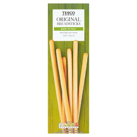 Tesco Italian Original Breadstick 125G