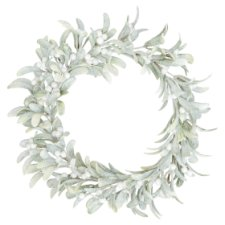 Tesco Frosty Mistletoe Wreath