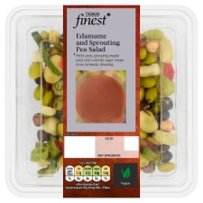 Tesco Finest Edamame And Sprouting Pea Salad 200G