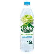 Volvic Apple And Elderflower Water S/Free1.5L