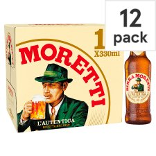 image 1 of Birra Moretti Lager Beer 12 X 330Ml