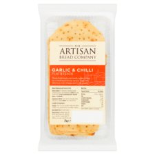 The Atrisan Bread Co Garlic And Chilli Flatbread 75G