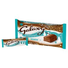 image 2 of Galaxy Salted Caramel Cake Bars 5 Pack