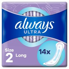 Always Ultra Long Size 2 Sanitary Towels 14