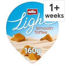 Muller Light Toffee Yogurt 160G