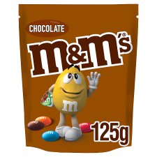M&M's Chocolate Pouch 125G