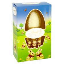 image 2 of Lindt Gold Milk Chocolate Bunnies And Easter Egg 125G