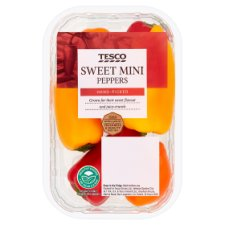 Tesco Sweet Mini Peppers 190G