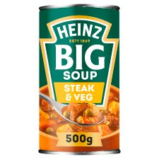 Heinz Big Mighty Steak & Vegetable Soup 500G