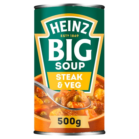 Heinz Big Mighty Steak And Vegetable Soup 500G