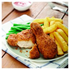 image 3 of Tesco Southern Fried Brded Chicken Drumsticks And Thighs 950G