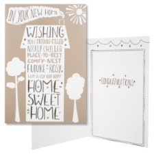 Hallmark New Home Card In Your New Home