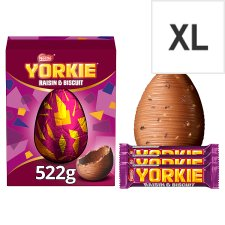 Nestle Yorkie Raisin And Biscuit Chocolate Egg 522G