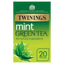 Twinings Green Tea Mint 20 Tea Bags 40G