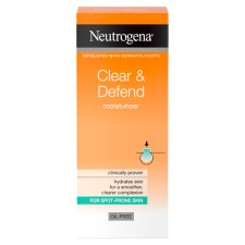 Neutrogena Visibly Clear Oil Free Moisturiser 50Ml