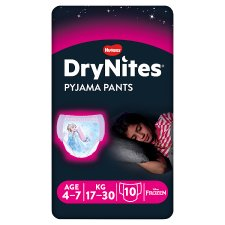 Drynites Girl Pyjama Pant Age 4-7 Years 10 Pants