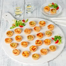 image 1 of Tesco Easy Entertaining 24 Mini Quiche Selection 552G