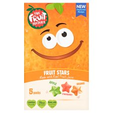 Fruit Factory Multi Fruit Stars 5 Pack 100G
