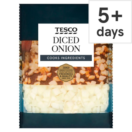 image 1 of Tesco Diced Onion 400G