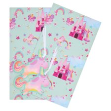 Tesco Princess And Castle 2 Sheets 2 Tags