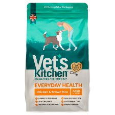 Vet's Kitchen Chicken & Rice Dry Dog Food 3Kg