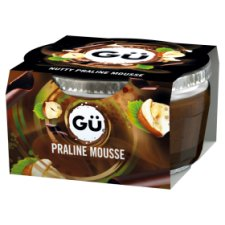 Gu Chocolate Praline Mousse 70G