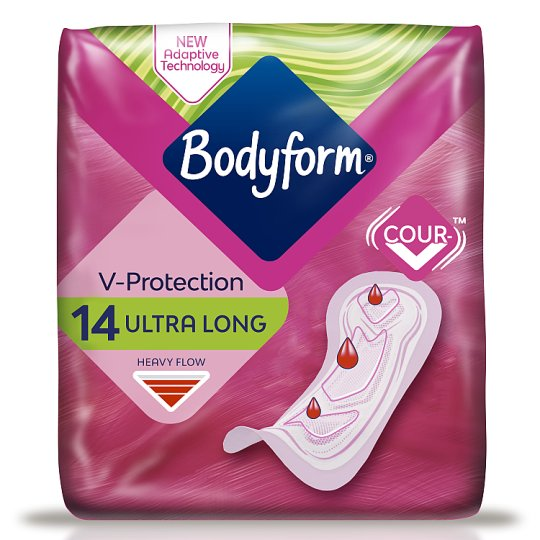 Bodyform Ultra Super Sanitary Towels 14 Pack