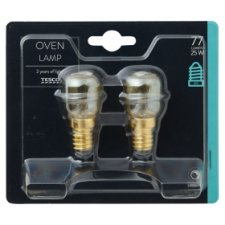 image 1 of Tesco Oven Lamp 2 Pack