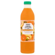 Tesco Clementine Peach, And Carrot Juice 750Ml