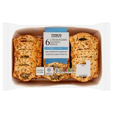 Tesco 6 Lincolnshire Rolls 360G