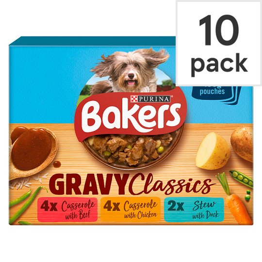 image 1 of Bakers Home Classics Variety 10X100g