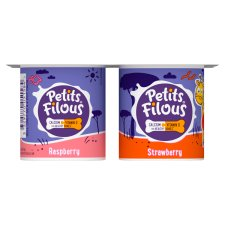 image 2 of Petits Filous Strawberry Raspberry Fromage Frais 4 X85g