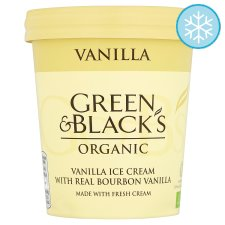 Green & Blacks Organic Vanilla Ice Cream 500Ml