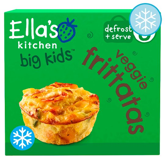 Ella's Kitchen Big Kids Vegetable Frittatas 200G
