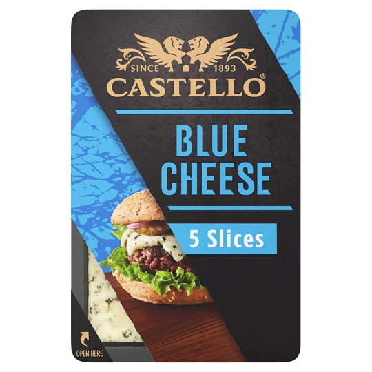 Castello Brgr Blue Cheese Slices 125 G