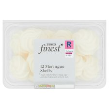 Tesco Finest 12 Meringue Shells