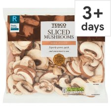 Tesco Sliced Mushrooms 250G