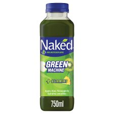 Naked Green Machine Apple Banana Smoothie 750 Ml