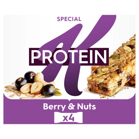 Special K Protein Blackcurrant And Pumpkin Seed Bars 4X28g