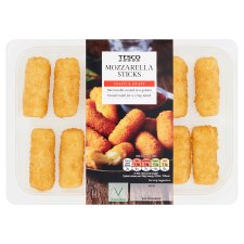 Tesco 12 Mozzarella Sticks 240G