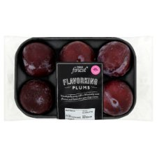 Tesco Fin Plums Mineral 4 Pack