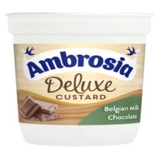 Ambrosia Deluxe Custard Belgian Milk Chocolate 110G